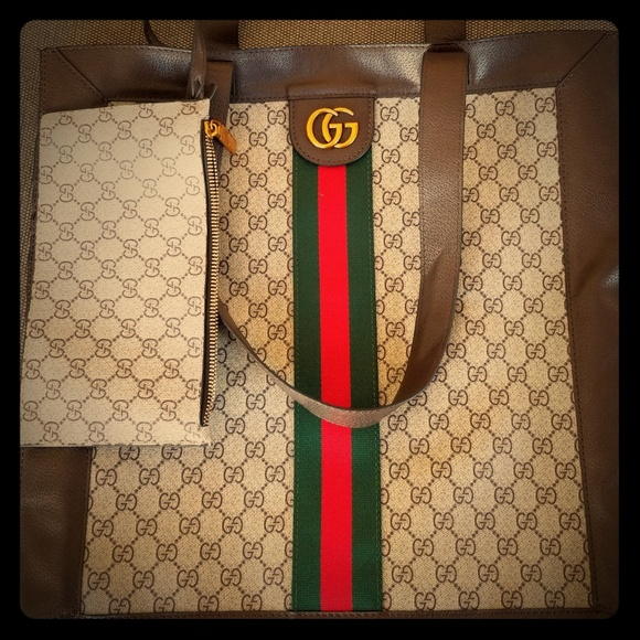 0258f80fe724 Gucci Handbags - Ophidia Soft GG Supreme Large Tote
